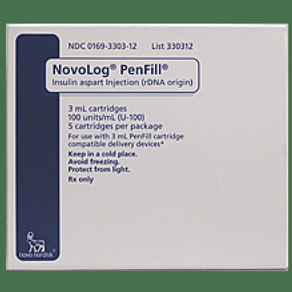 novolog Penfill