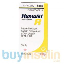 Humulin R Vial
