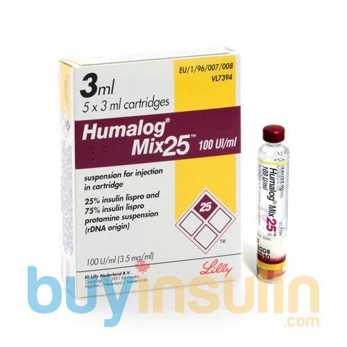 HumalogMix25Cartridges